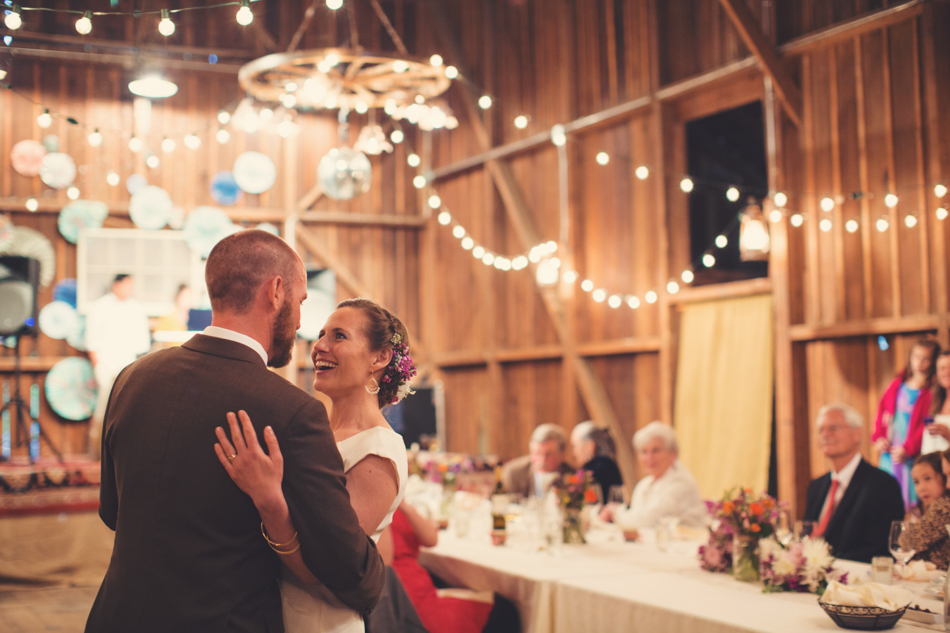 Barn Wedding in Bolinas