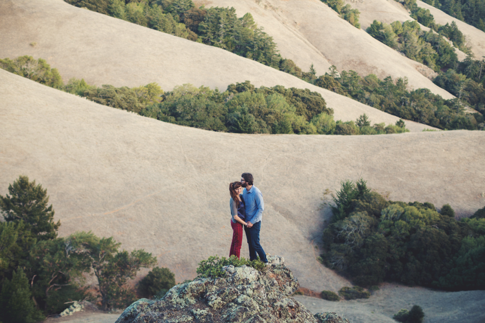 Mount Tamalpais Couple photos by Anne-Claire Brun0013