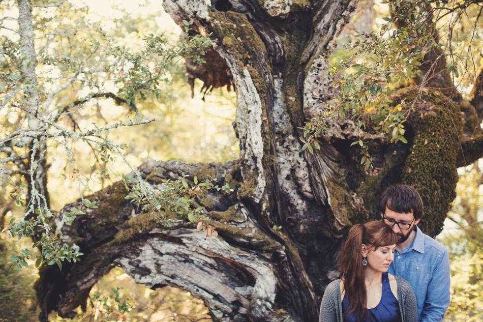 Mount Tamalpais Couple photos by Anne-Claire Brun0026