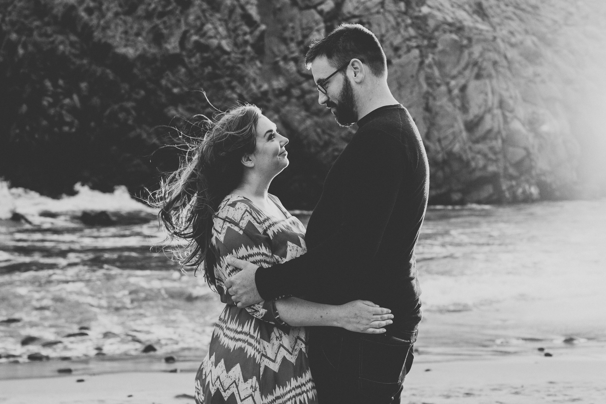 Engagement photos in Big Sur @Anne-Claire Brun 0012