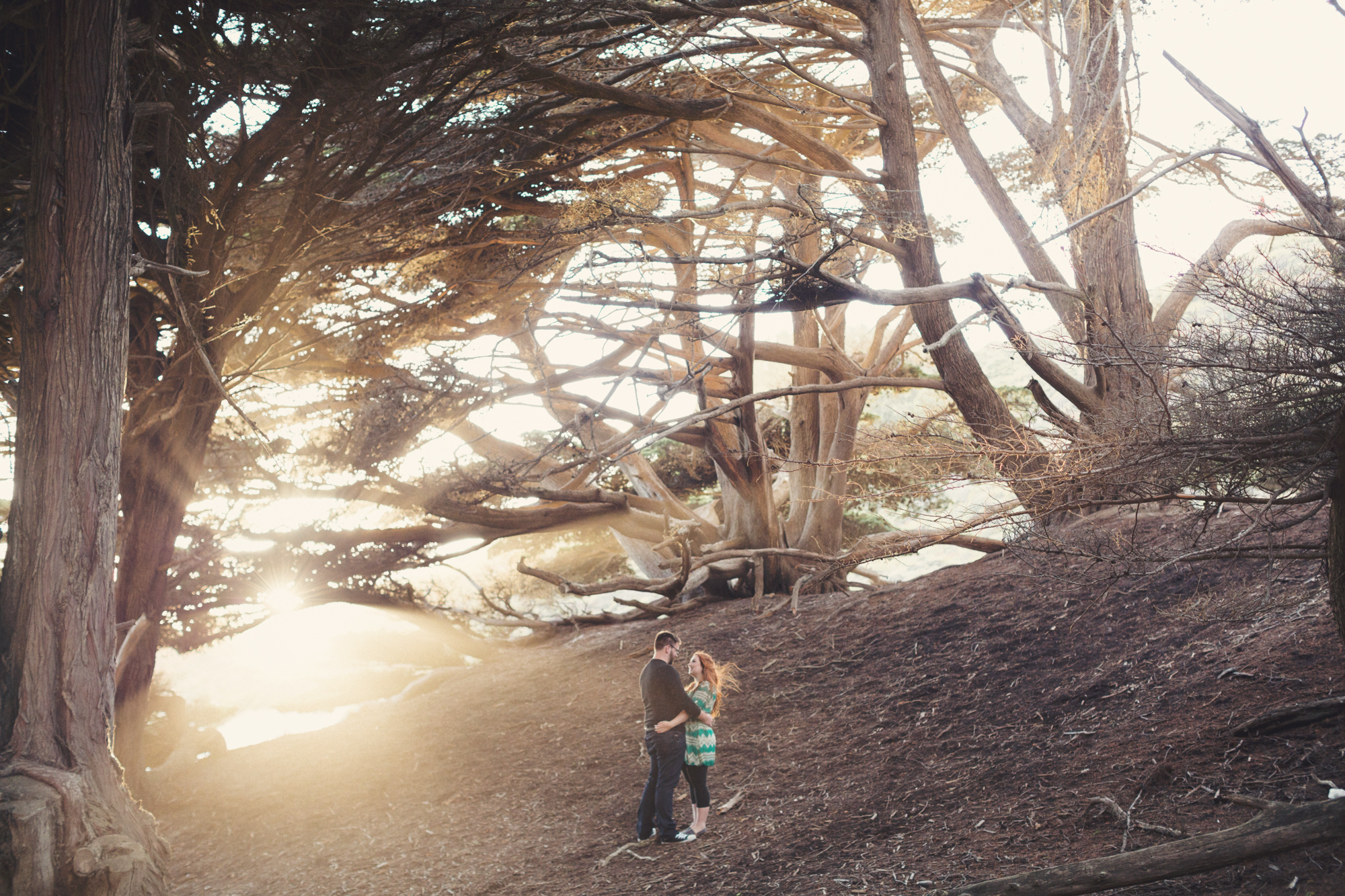 Engagement photos in Big Sur @Anne-Claire Brun 0013