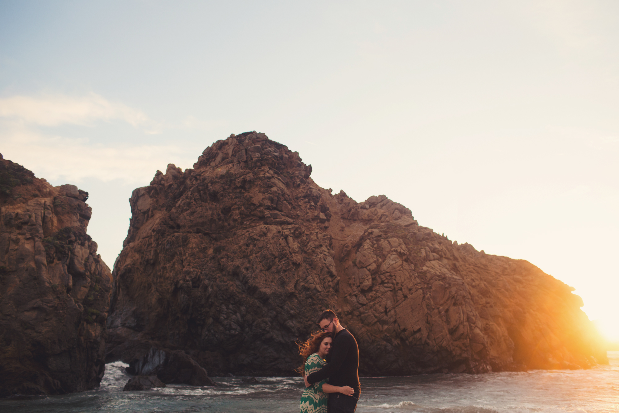 Big Sur couple photos Anne-Claire Brun