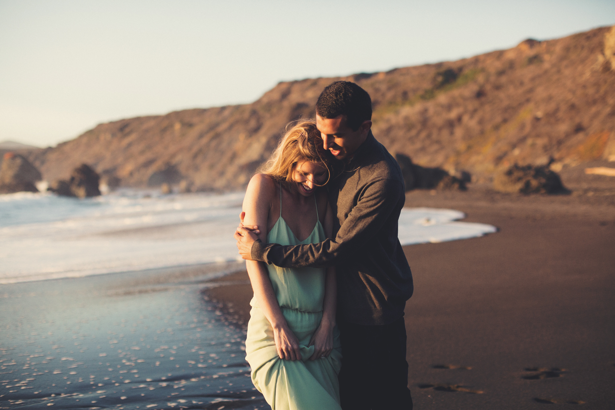 Beach Engagement Photos @ Anne-Claire Brun-0088