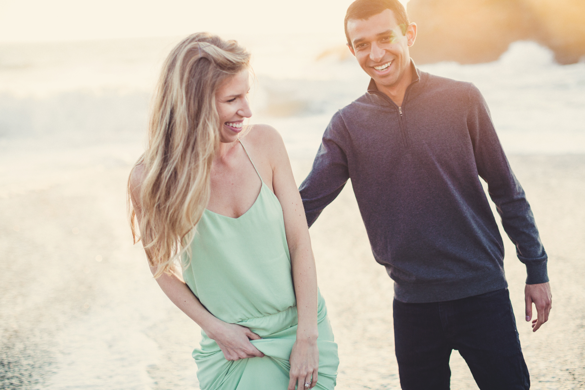 Beach Engagement Photos @ Anne-Claire Brun-0091