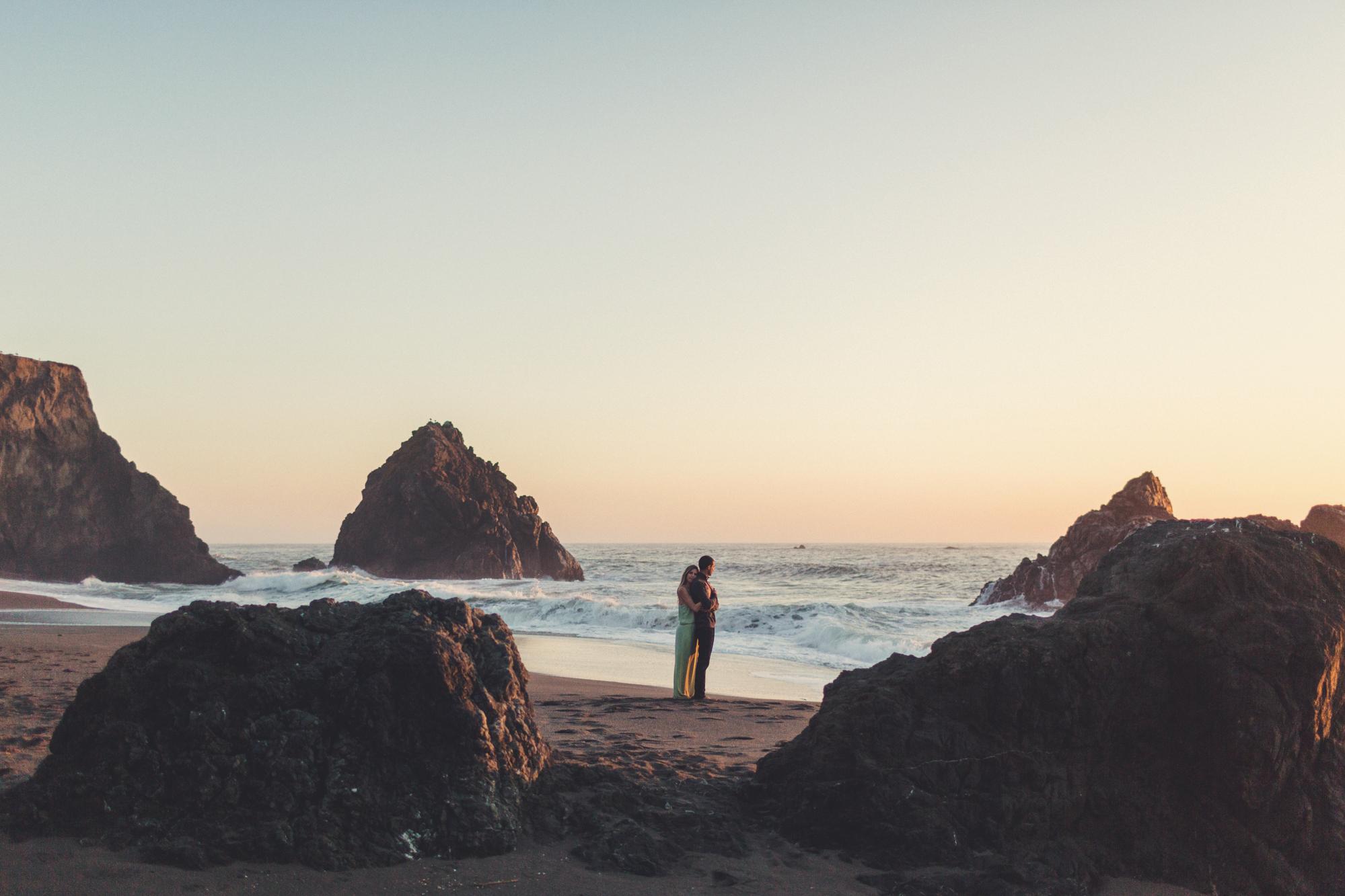 Beach Engagement Photos @ Anne-Claire Brun-0127