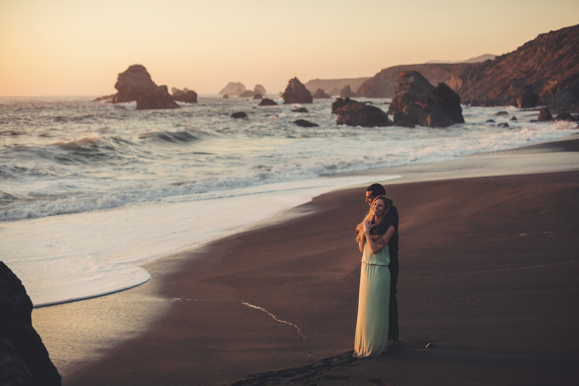 Beach Engagement Photos @ Anne-Claire Brun-0129