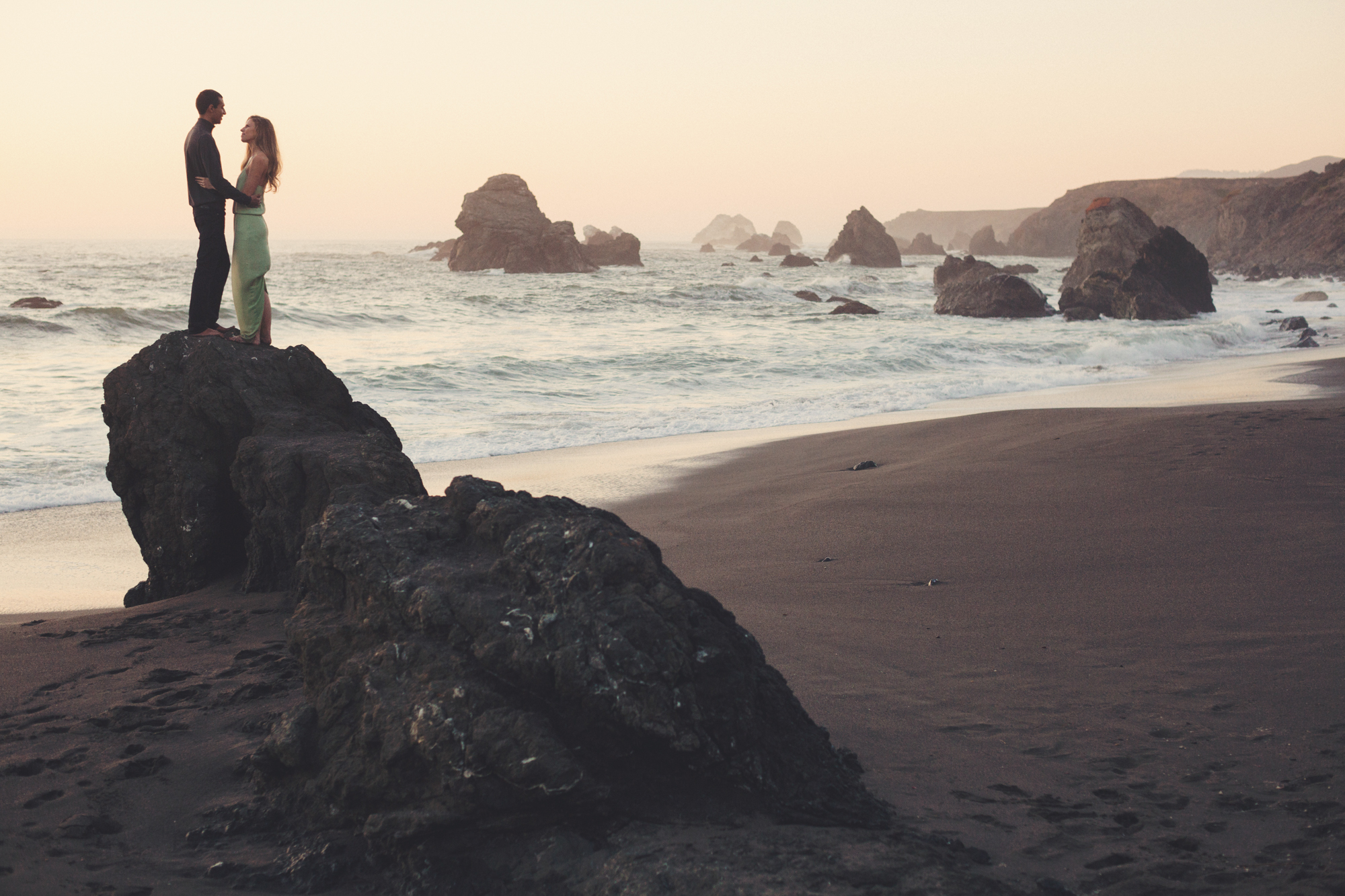 Beach Engagement Photos @ Anne-Claire Brun-0146