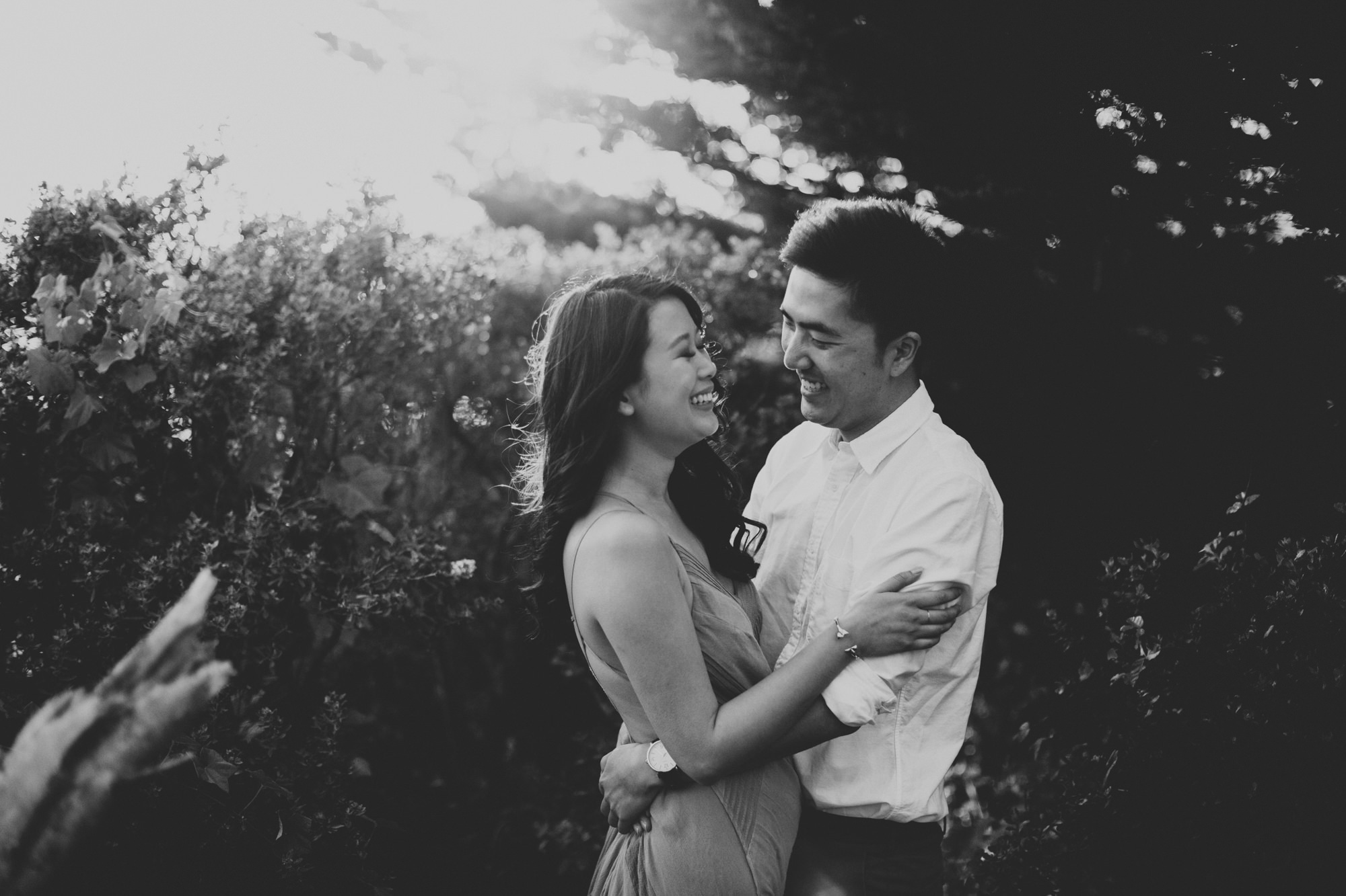 Engagement photos in Muir Woods @Anne-Claire Brun 052