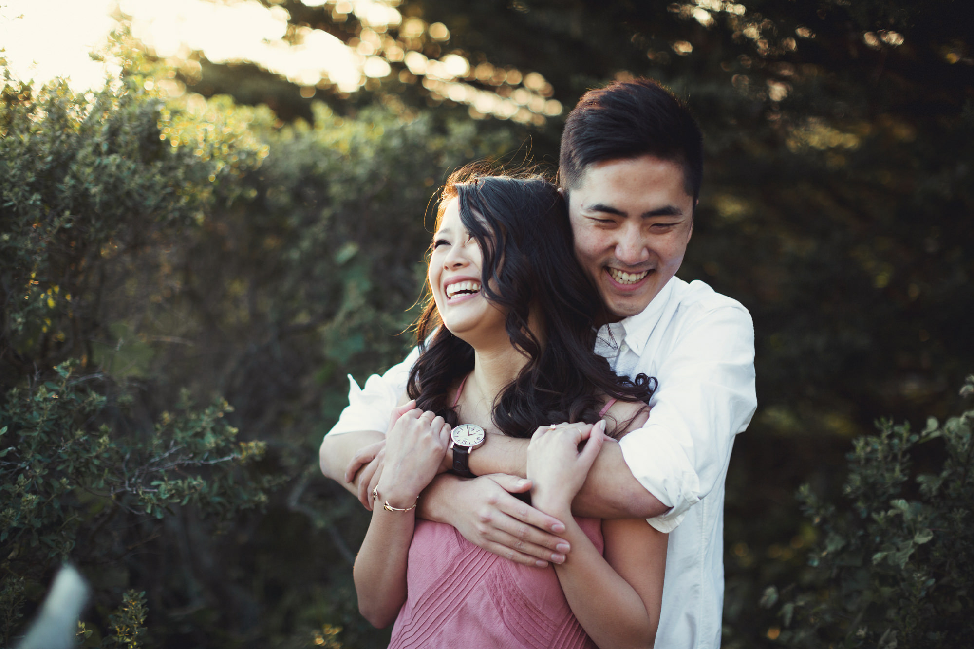 Engagement photos in Muir Woods @Anne-Claire Brun 058