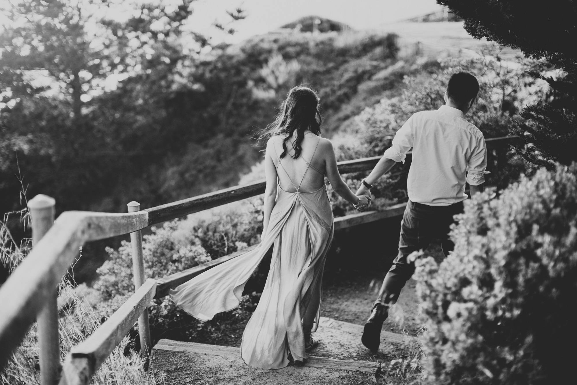 Engagement photos in Muir Woods @Anne-Claire Brun 063
