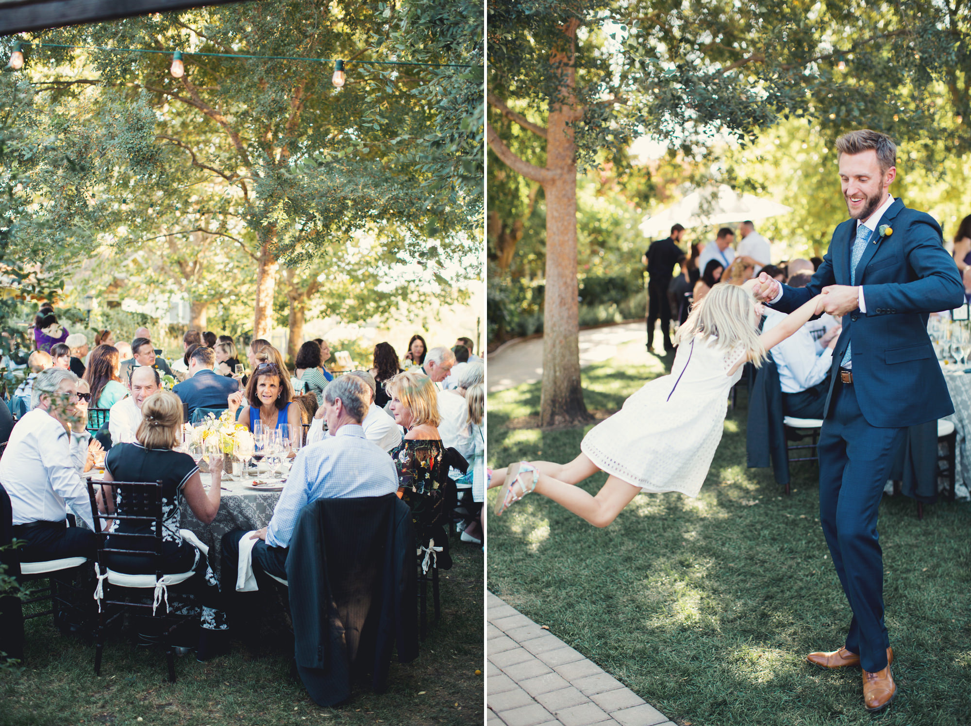 Healdsburg Country Gardens Wedding