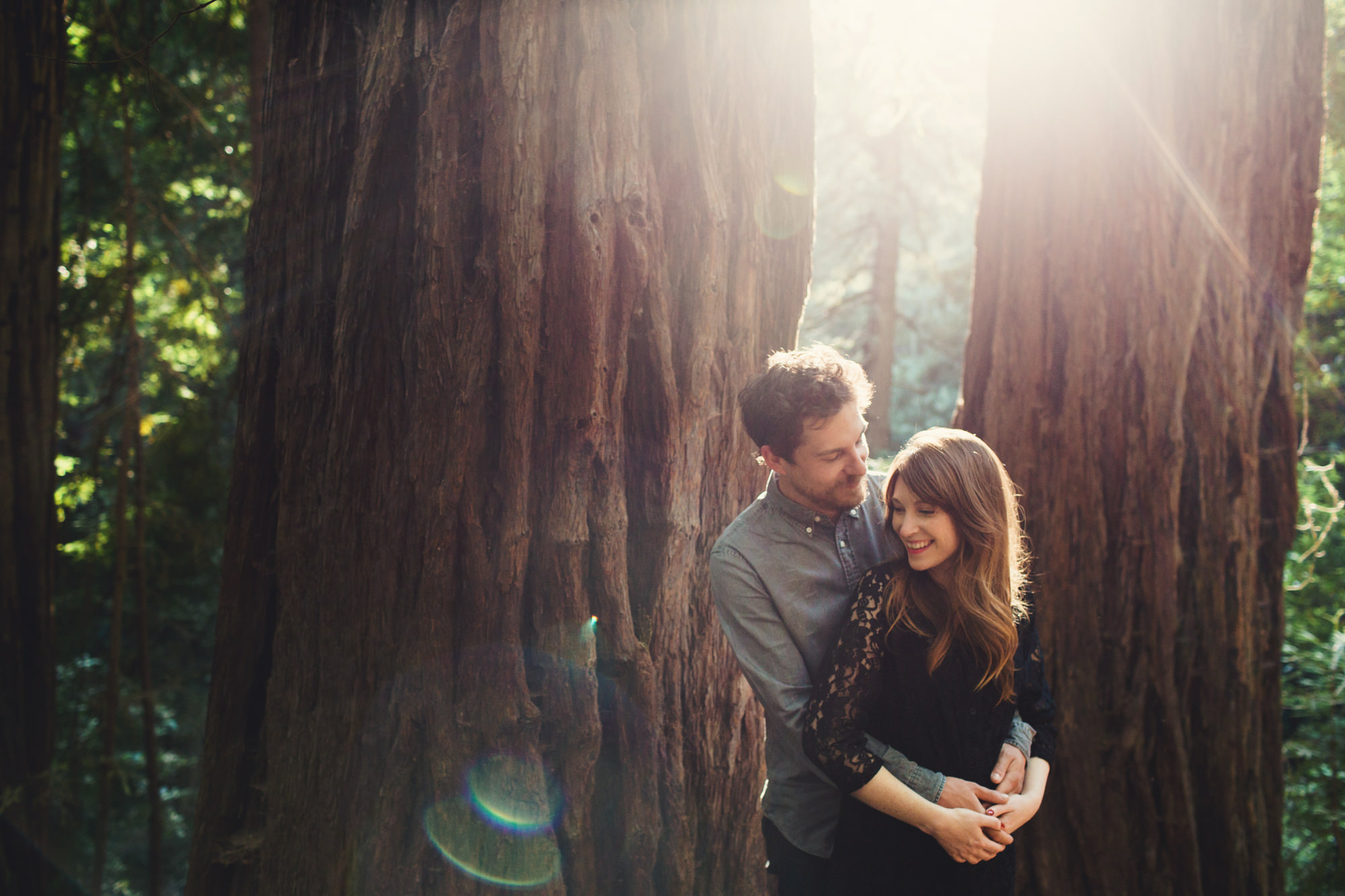 Muir Woods Couple Photos