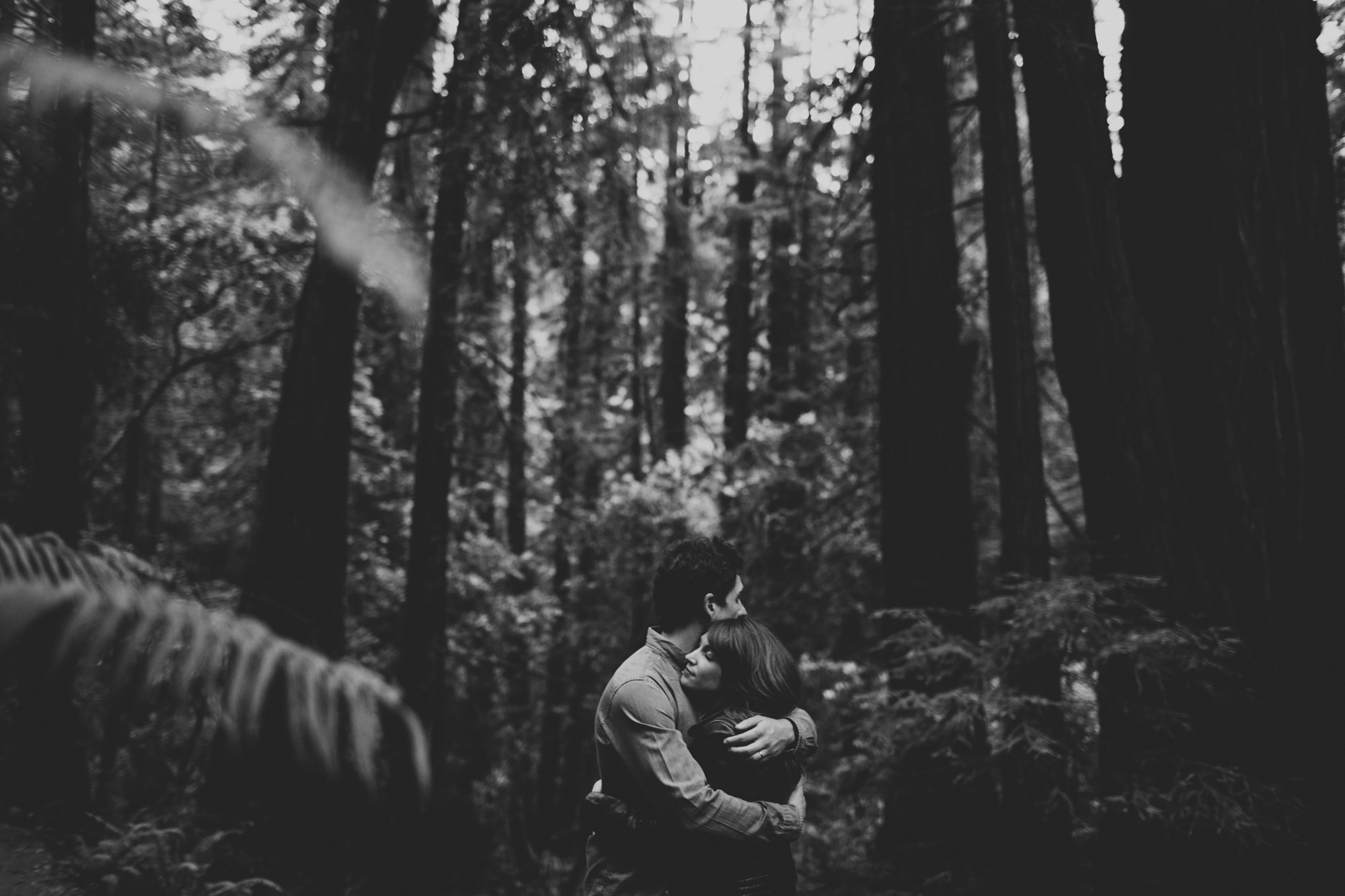 Muir Woods Couple Photos ©Anne-Claire Brun