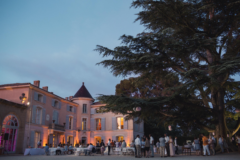 Mariage au Château d'Alphéran