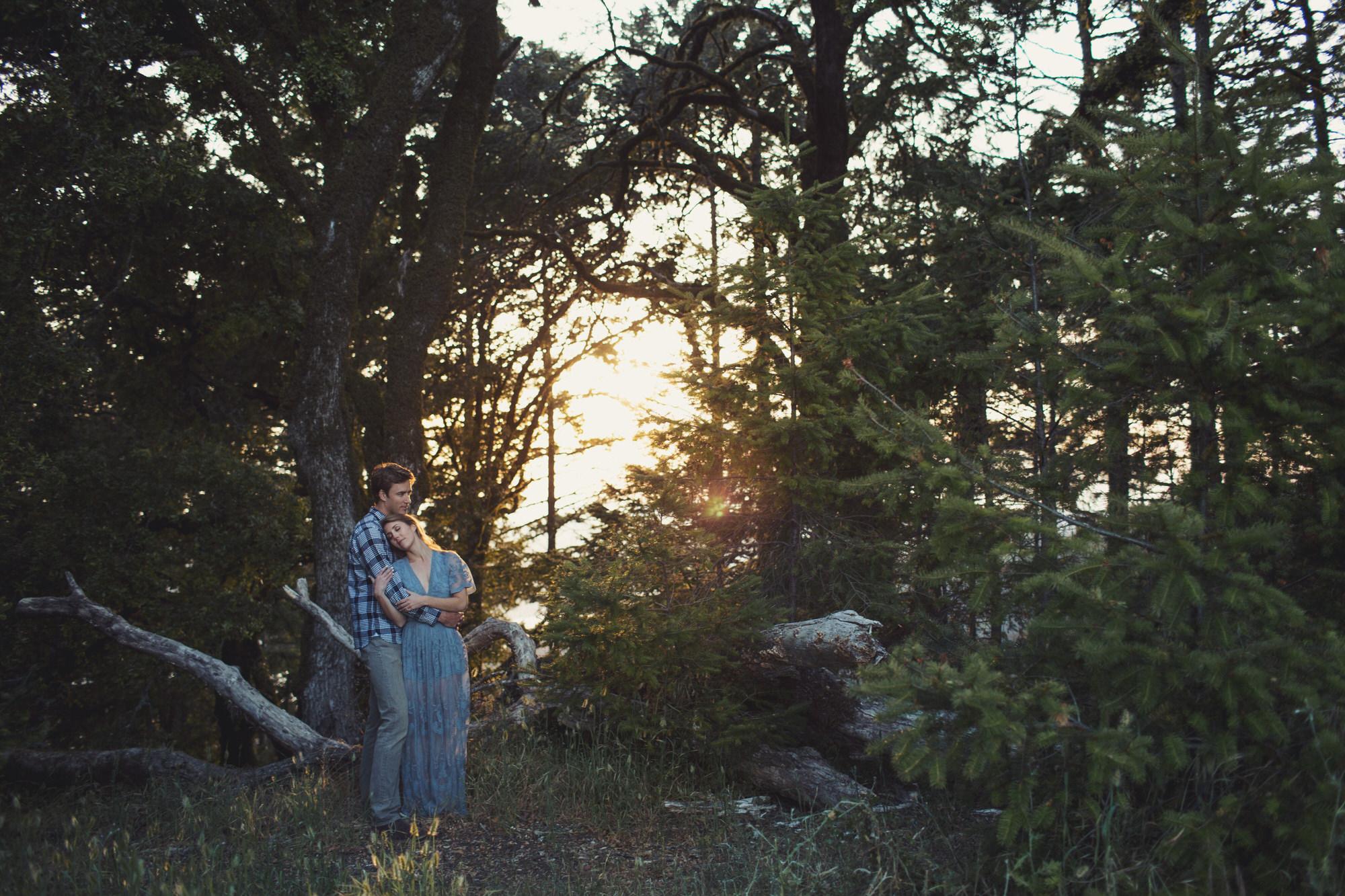 Wood Engagement Photos