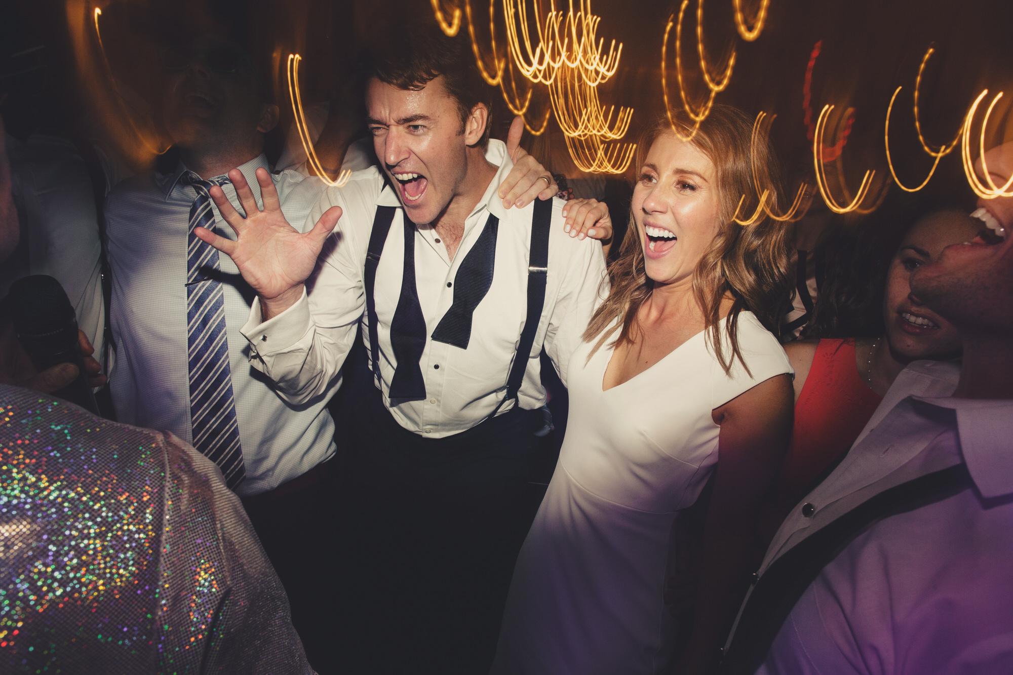 dancing at wedding