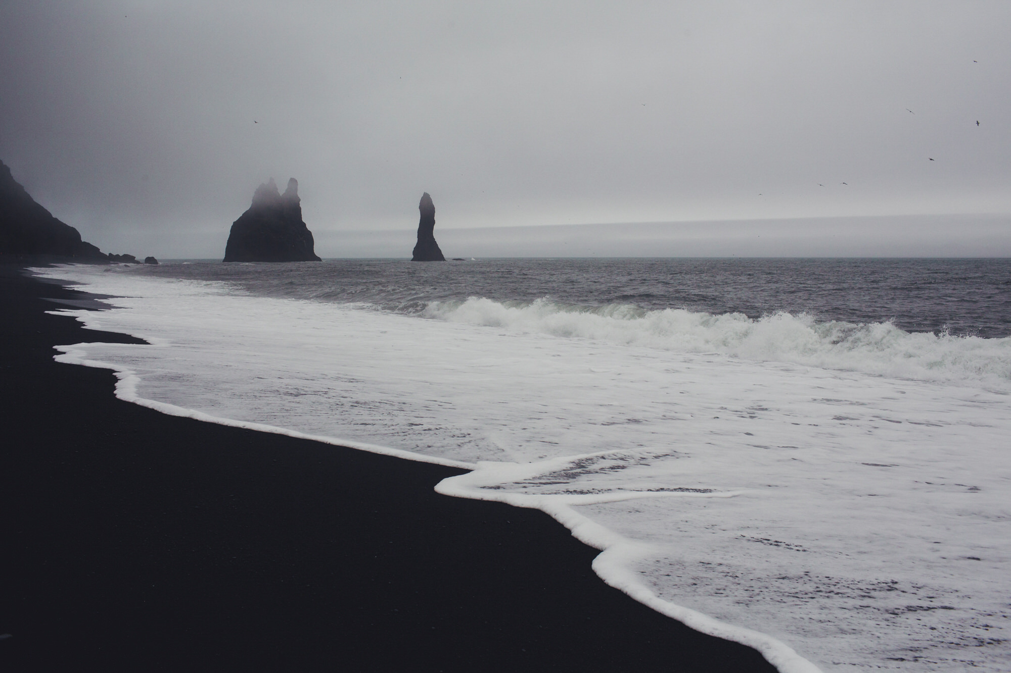 Reynisfjara black beach iceland