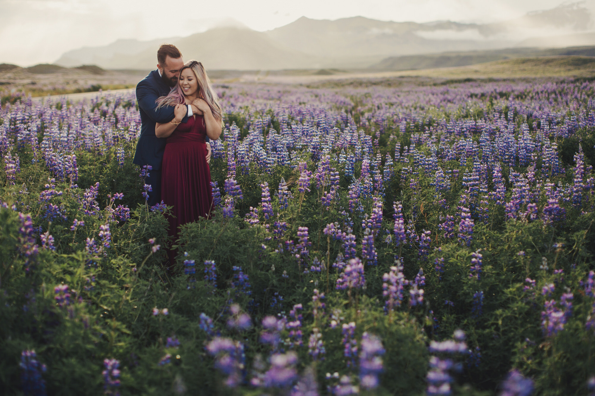romantic photos iceland
