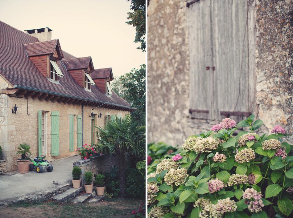 A Rustic Elegant Wedding in a French Manor007