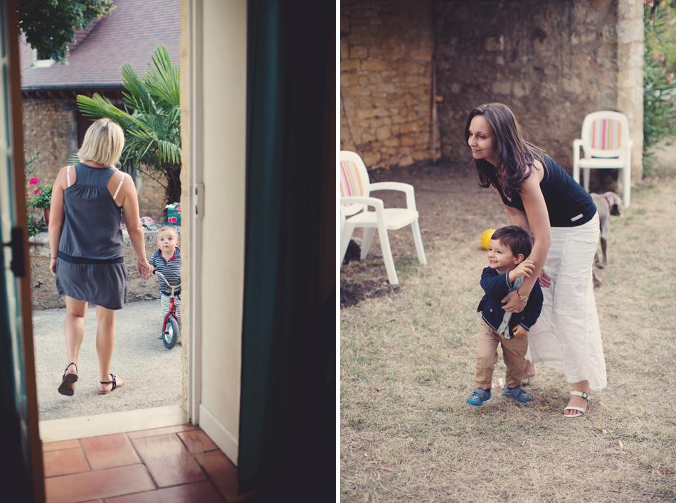 A Rustic Elegant Wedding in a French Manor008