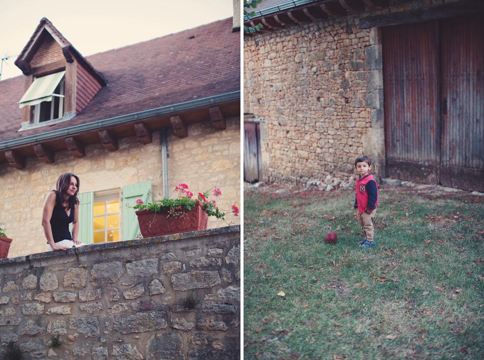 A Rustic Elegant Wedding in a French Manor011