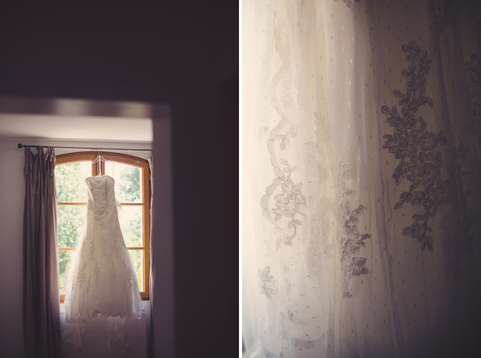 A Rustic Elegant Wedding in a French Manor032