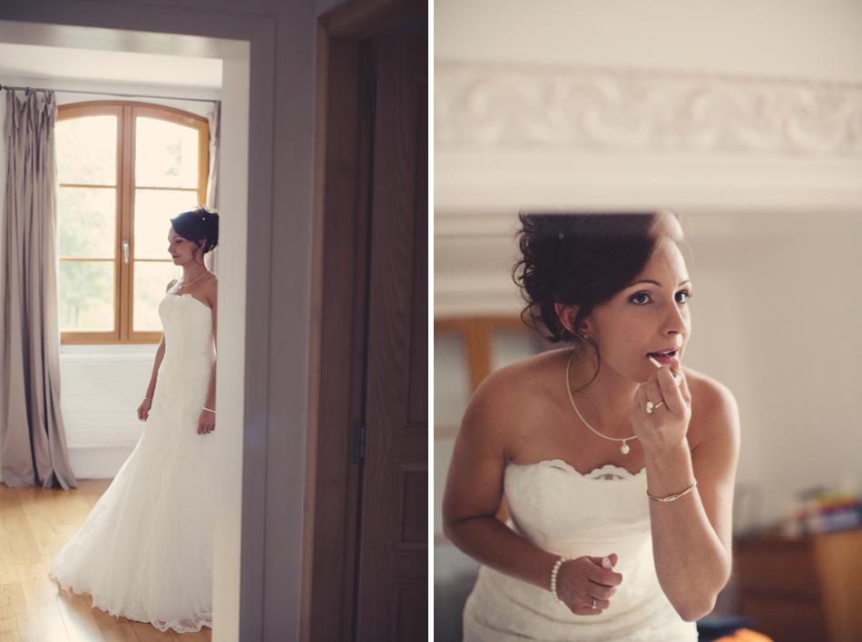 A Rustic Elegant Wedding in a French Manor035