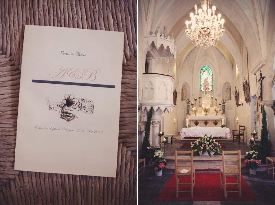 A Rustic Elegant Wedding in a French Manor061