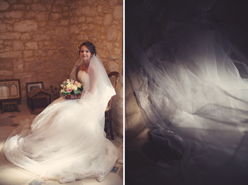 A Rustic Elegant Wedding in a French Manor068