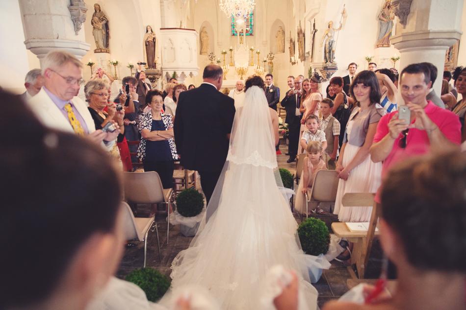 A Rustic Elegant Wedding in a French Manor073