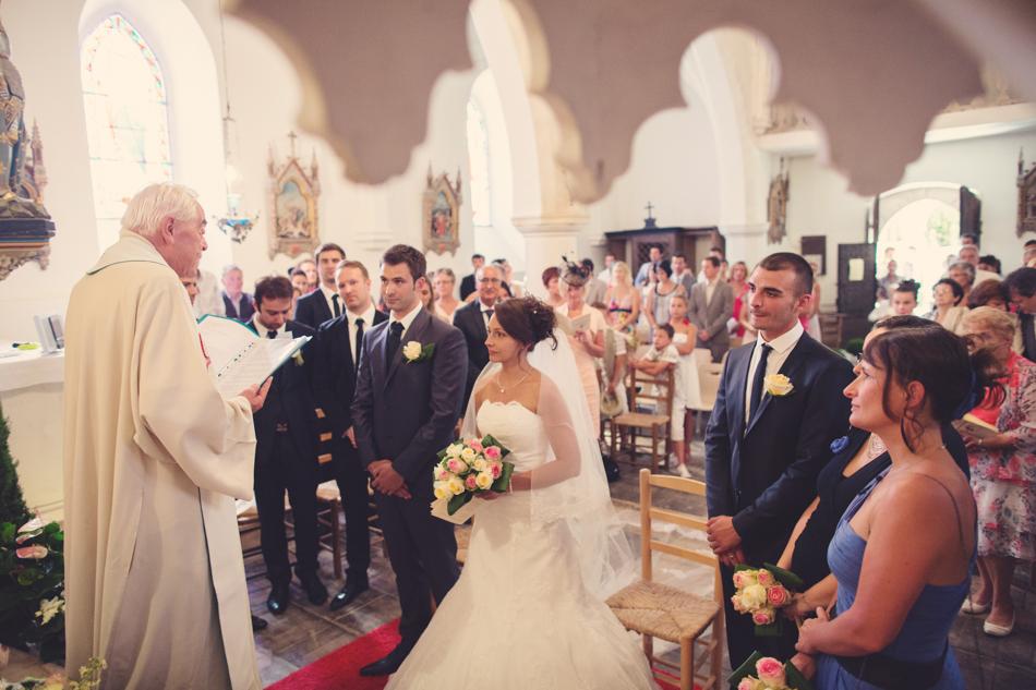 A Rustic Elegant Wedding in a French Manor080