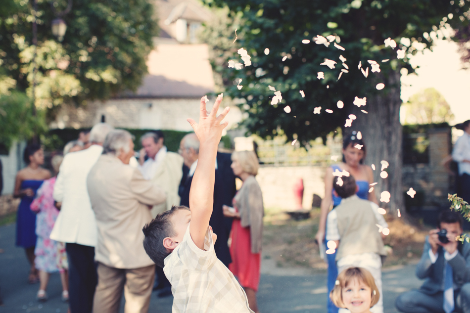 A Rustic Elegant Wedding in a French Manor082