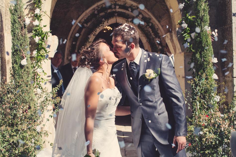 A Rustic Elegant Wedding in a French Manor083