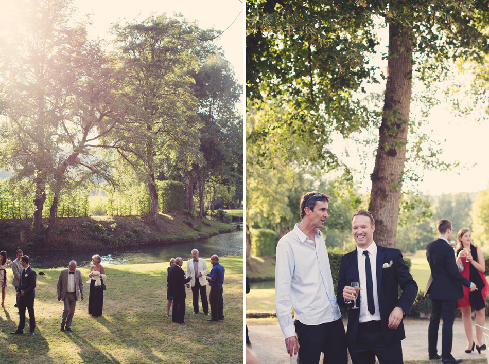 A Rustic Elegant Wedding in a French Manor095