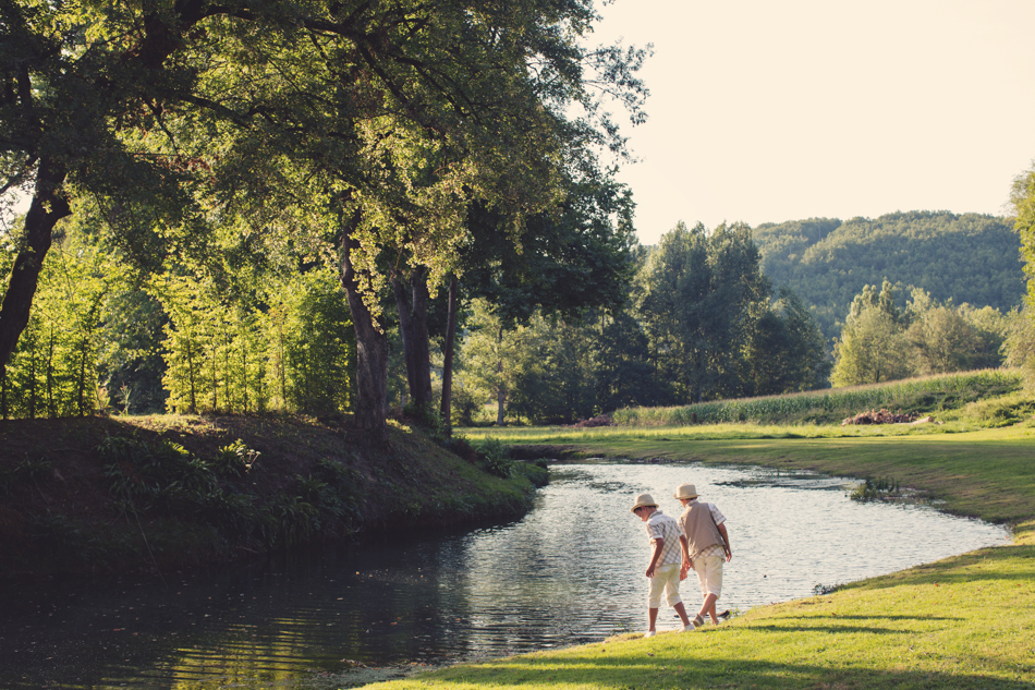 A Rustic Elegant Wedding in a French Manor096
