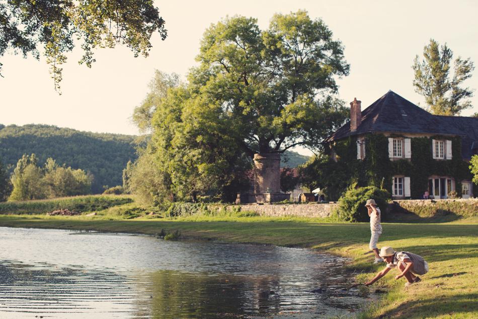 A Rustic Elegant Wedding in a French Manor097