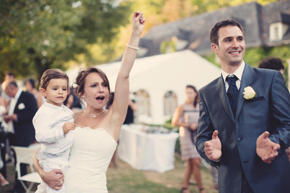 A Rustic Elegant Wedding in a French Manor118