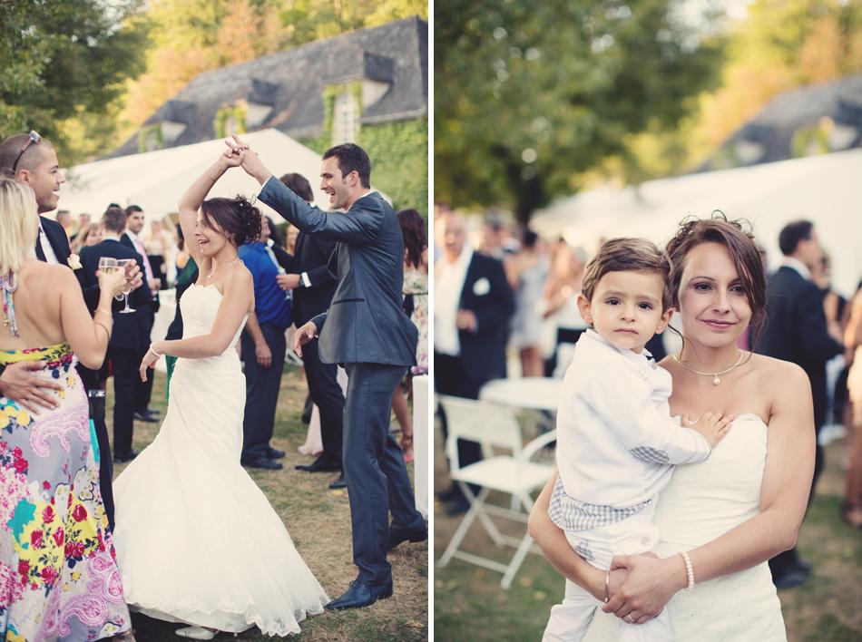 A Rustic Elegant Wedding in a French Manor119