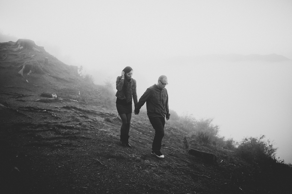 A Love Session in the Marin Headlands