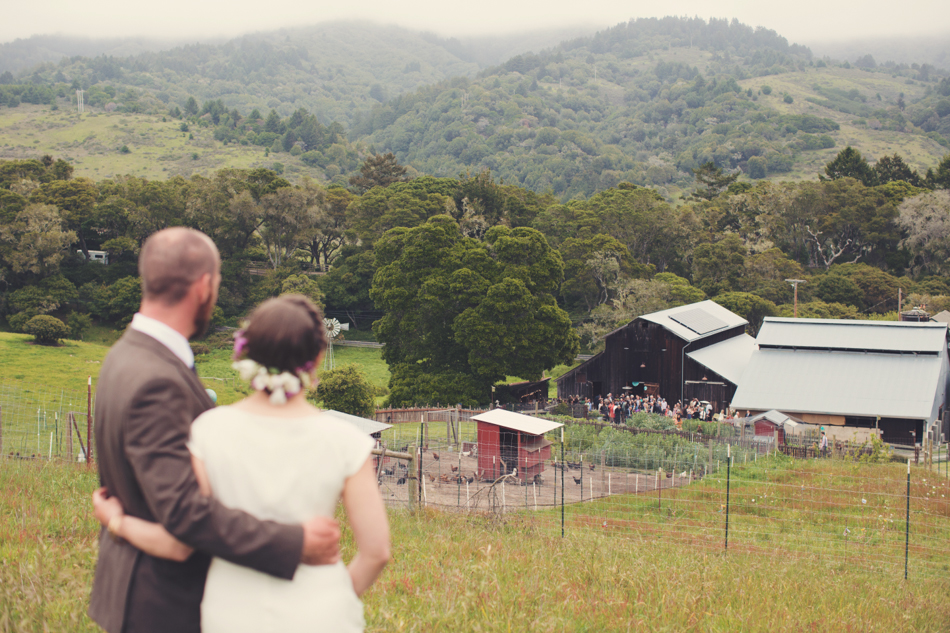 Barn wedding Bolinas - Mann Family Farm ©Anne-Claire Brun0131