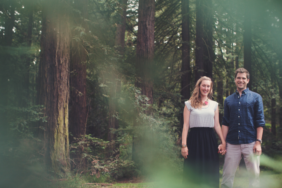 Engagement Session in Berkeley Redwood Forrest ©Anne-Claire Brun 0004