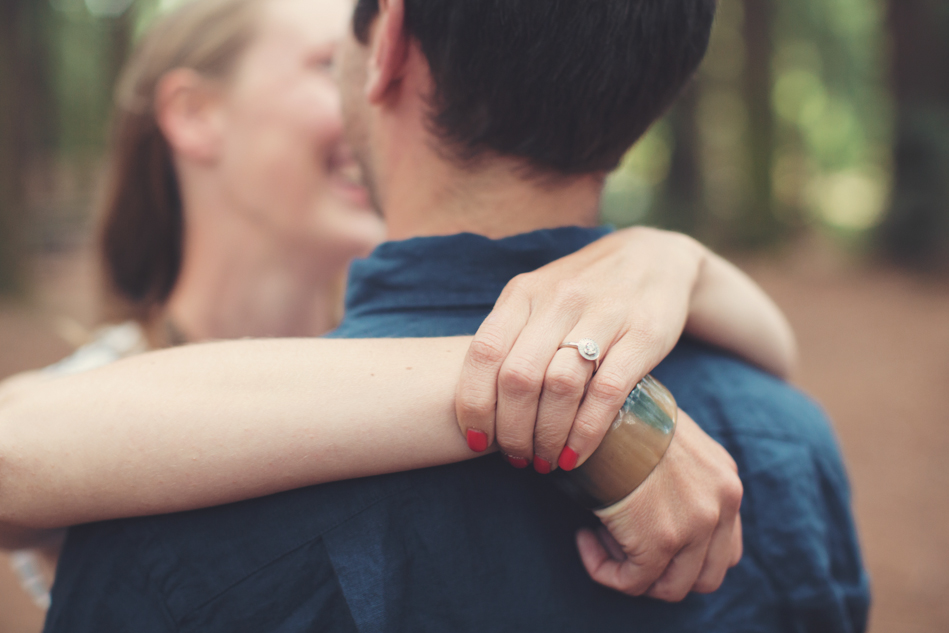 Engagement Session in Berkeley Redwood Forrest ©Anne-Claire Brun 0010