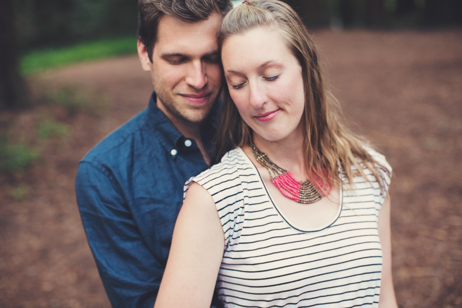 Engagement Session in Berkeley Redwood Forrest ©Anne-Claire Brun 0015