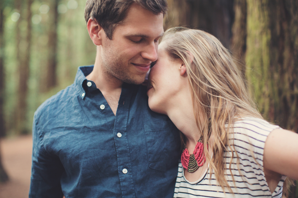 Engagement Session in Berkeley Redwood Forrest ©Anne-Claire Brun 0023