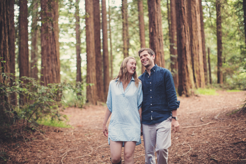 Engagement Session in Berkeley Redwood Forrest ©Anne-Claire Brun 0036