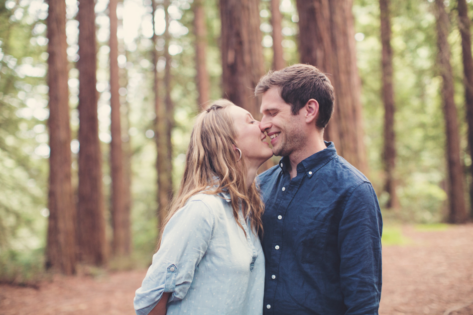 Engagement Session in Berkeley Redwood Forrest ©Anne-Claire Brun 0039