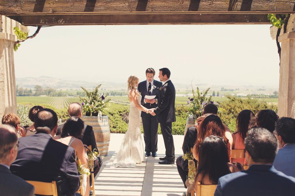 Gloria Ferrer Wedding Elopement in Napa Vineyard ©Anne-Claire Brun 0033