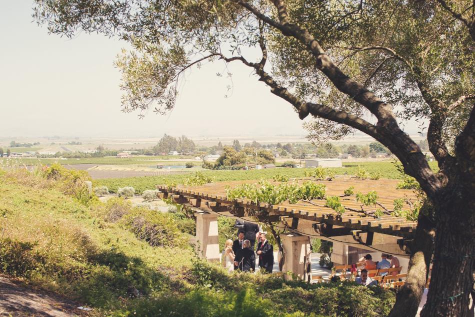 Gloria Ferrer Wedding Elopement in Napa Vineyard ©Anne-Claire Brun 0042