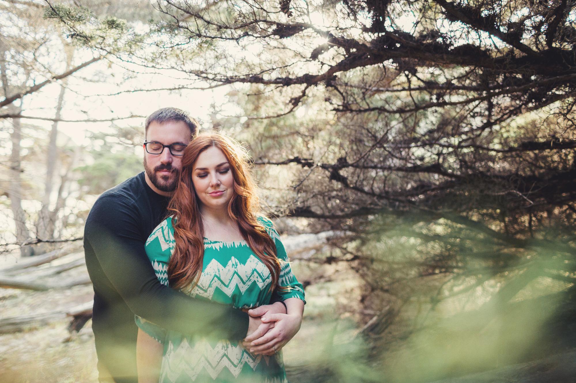 Engagement photos in Big Sur @Anne-Claire Brun 0006