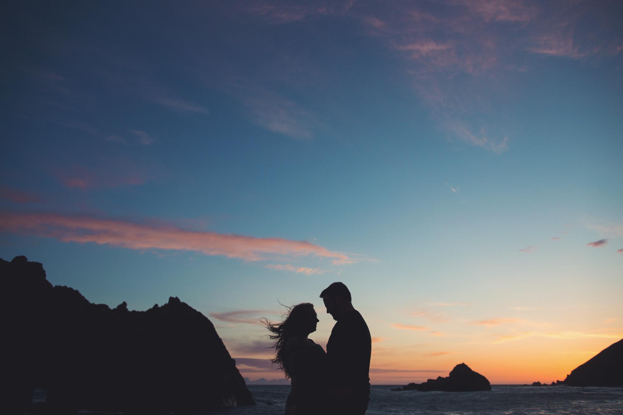 Engagement photos in Big Sur @Anne-Claire Brun 0008